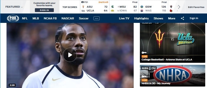 Best 17 Free Sports Streaming Sites To Watch Sports Online In 2019