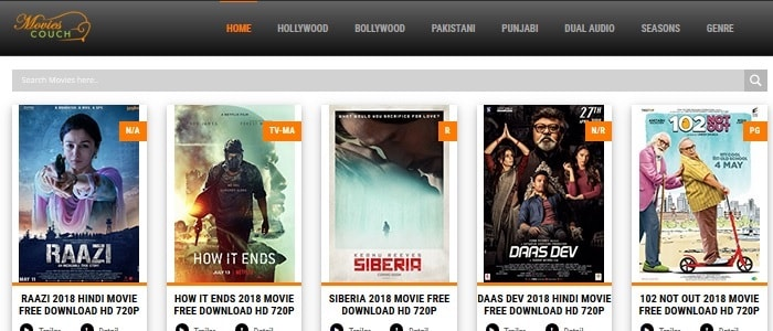 Top 10 best free movie download sites to download superhit movies.