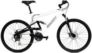 2020 Gravity FSX 1.0 Dual Full Suspension Mountain Bike