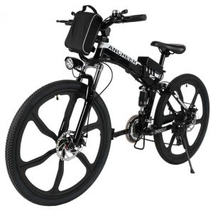 top rated ANCHEER Power Plus Electric Mountain Bike
