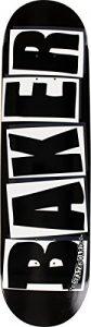 Baker Brand Logo Black / White Skateboard Deck