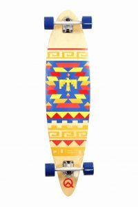 Quest Tribes Pin Kick Tail Longboard