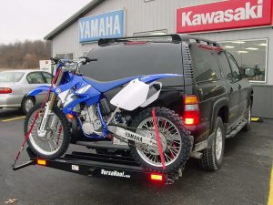 VersaHaul Dirt Bike Hitch Carrier With Ramp