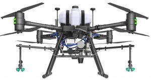 2) Bigly Brother Gas-Electric Hybrid System Farming Drone