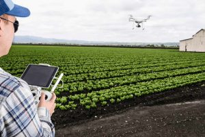 An agriculture drone. [Image Source: Miro.medium.com]