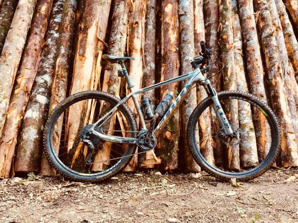 Clean a mountain bike