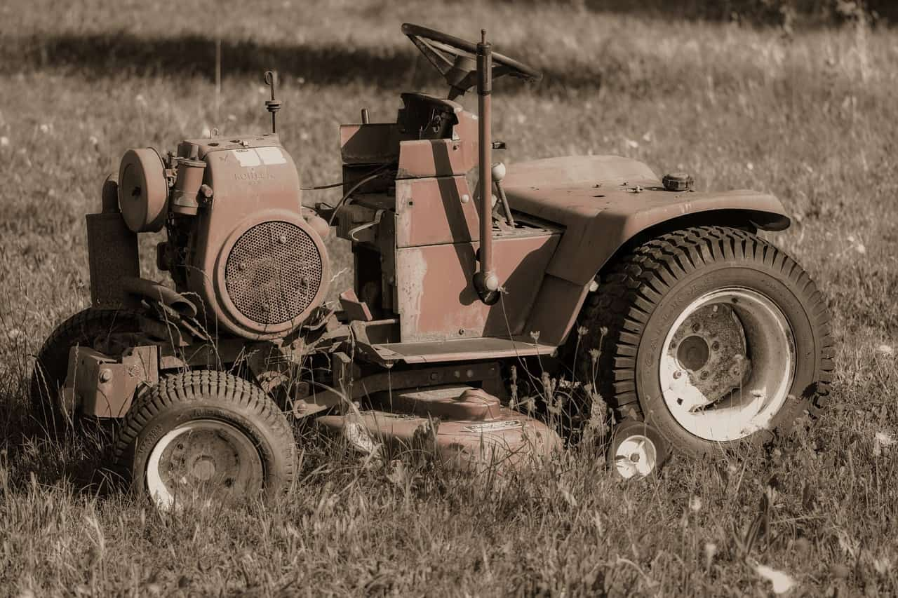 Idle Lawn Mower