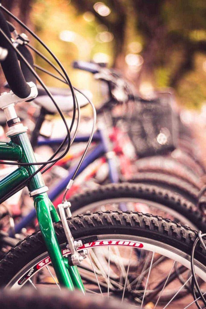 Mountain bike brake maintenance