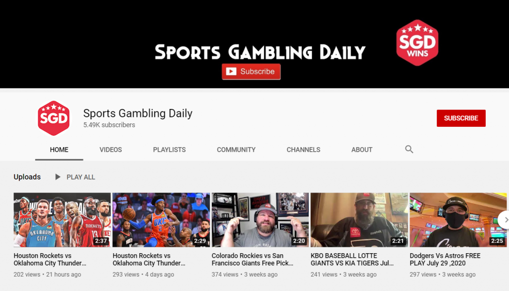 Best sports betting youtube channels bcs bowl betting odds